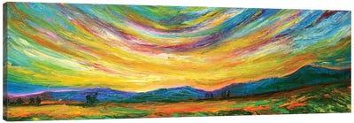 Long View Canvas Art Print