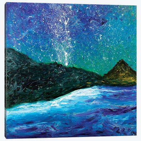 Magic Night Canvas Print #CIR60} by Chiara Magni Art Print