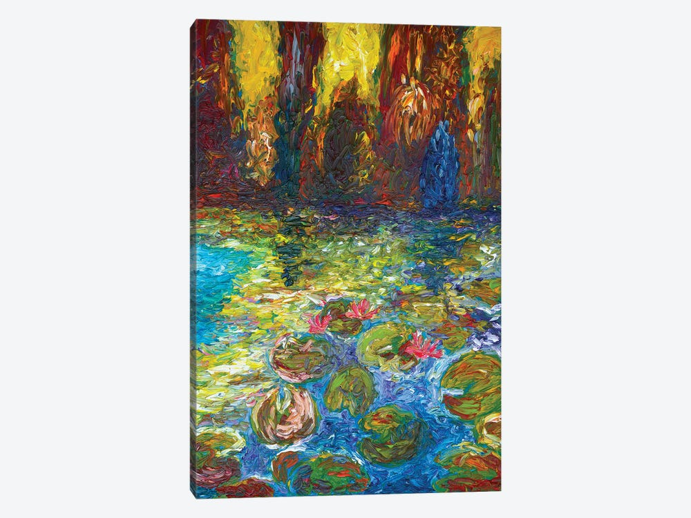 Ninfee At The Sunset by Chiara Magni 1-piece Canvas Art