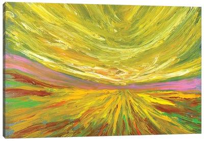 Pink Horizon Canvas Art Print