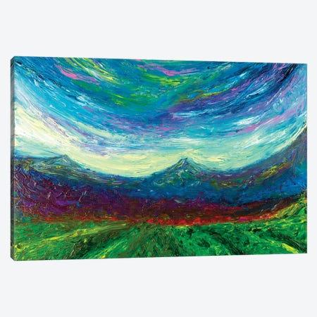 Purple Hug Canvas Print #CIR72} by Chiara Magni Canvas Art