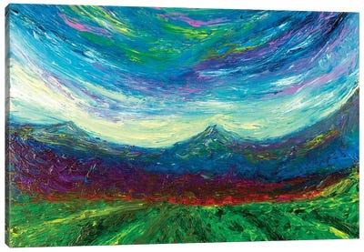 Purple Hug Canvas Art Print