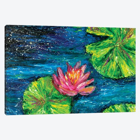 Waterlilies Canvas Print #CIR83} by Chiara Magni Canvas Art Print