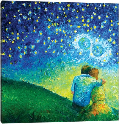 We Are Infinite Canvas Art Print