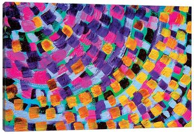 Abstract Rainbow Canvas Art Print
