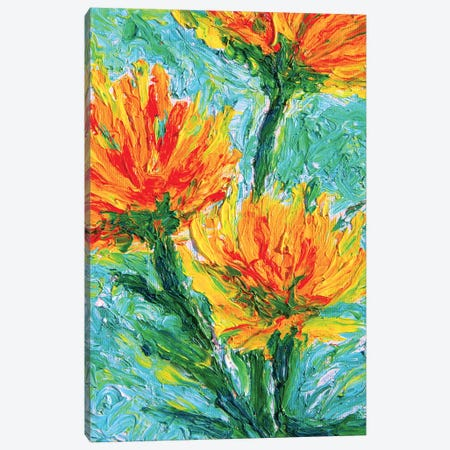 Fiori 3-Piece Canvas #CIR87} by Chiara Magni Canvas Wall Art