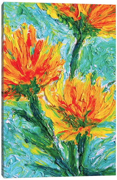 Fiori Canvas Art Print