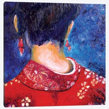 Her New Kimono Canvas Print #CIR88} by Chiara Magni Canvas Print