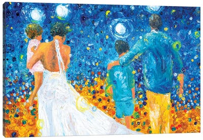 Our Corner Of Paradise Canvas Art Print
