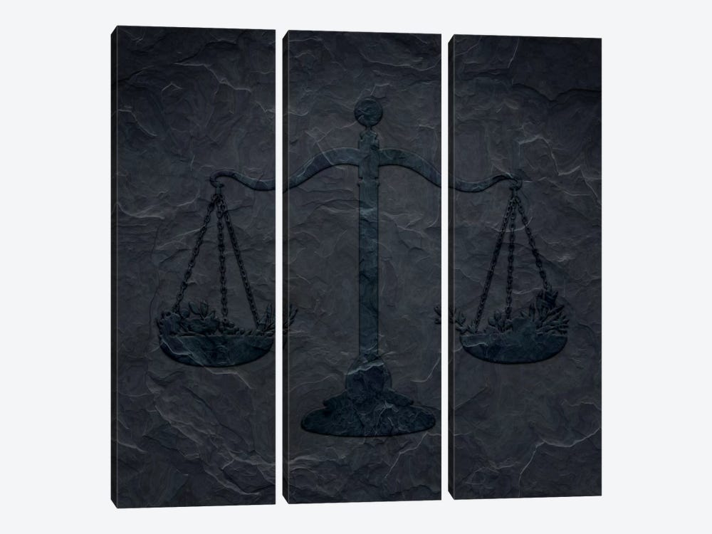Perfected Balance by 5by5collective 3-piece Canvas Artwork