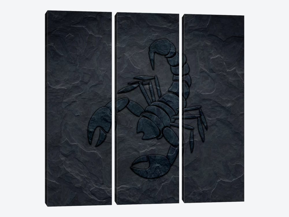Ready To Attack by 5by5collective 3-piece Canvas Print