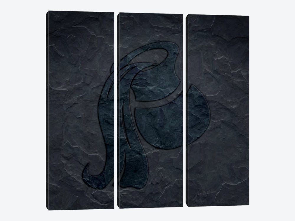 Flow Like A River by 5by5collective 3-piece Canvas Artwork