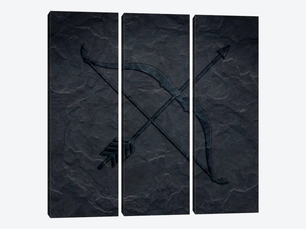Marksman by 5by5collective 3-piece Canvas Wall Art