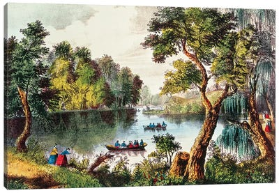 Mill Cove Lake  Canvas Art Print