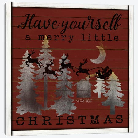 Have Yourself a Merry Little Christmas Canvas Print #CJA106} by Cindy Jacobs Canvas Print