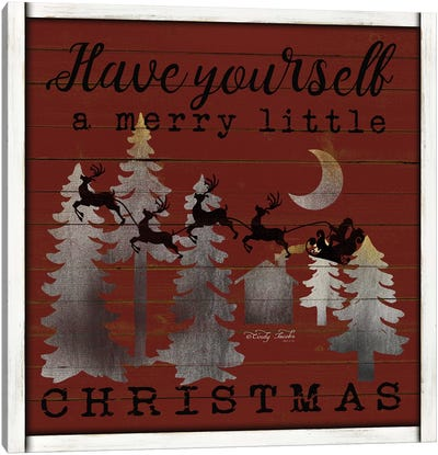 Have Yourself a Merry Little Christmas Canvas Art Print