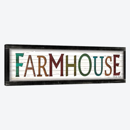 Colorful Farmhouse Canvas Print #CJA120} by Cindy Jacobs Canvas Wall Art