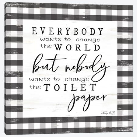Everybody Wants to Change the World Canvas Print #CJA123} by Cindy Jacobs Canvas Art