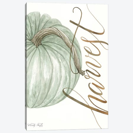 Harvest Pumpkin Canvas Print #CJA135} by Cindy Jacobs Canvas Art