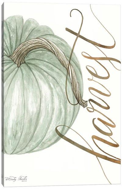 Harvest Pumpkin Canvas Art Print
