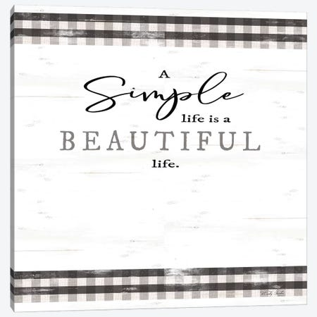 Simple & Beautiful Life Canvas Print #CJA164} by Cindy Jacobs Canvas Print
