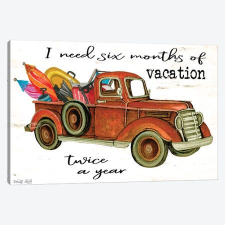 Vacation Truck Canvas Print #CJA166} by Cindy Jacobs Canvas Art Print