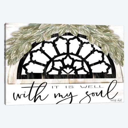 With My Soul Canvas Print #CJA168} by Cindy Jacobs Canvas Art
