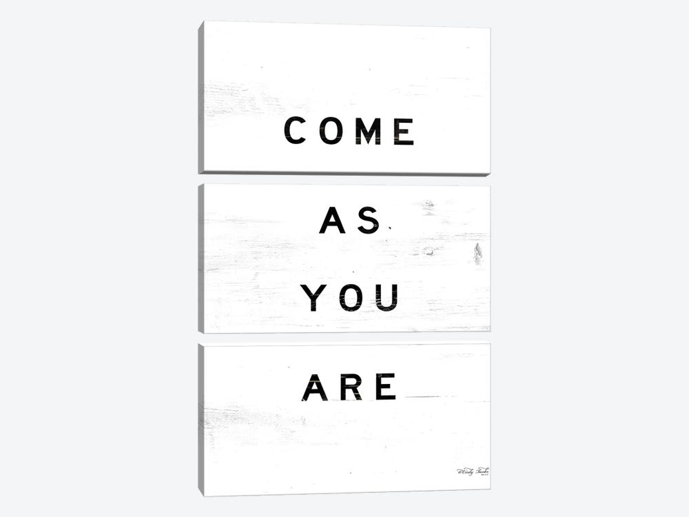 Come As You Are by Cindy Jacobs 3-piece Art Print