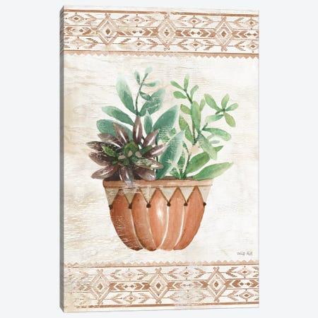 Southwest Terracotta Succulents I Canvas Print #CJA178} by Cindy Jacobs Art Print
