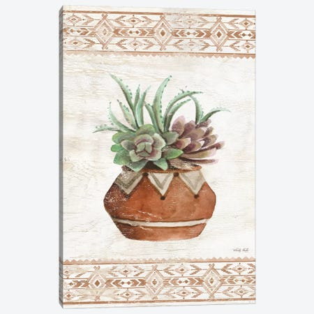 Southwest Terracotta Succulents II Canvas Print #CJA179} by Cindy Jacobs Canvas Art Print