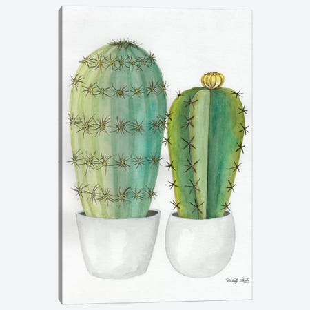 Cactus Love Canvas Print #CJA185} by Cindy Jacobs Art Print