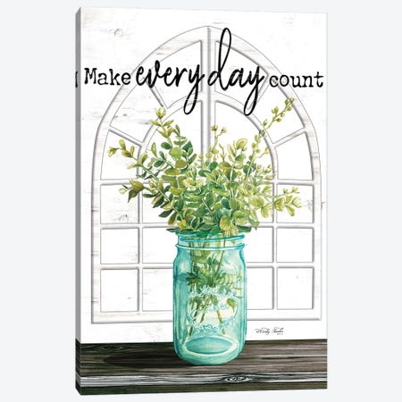 Make Everyday Count Canvas Print #CJA200} by Cindy Jacobs Canvas Print