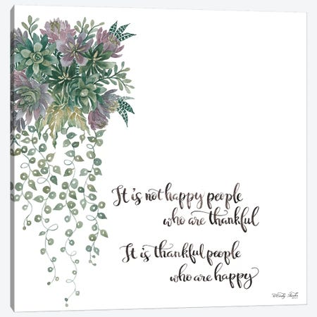 Thankful People Canvas Print #CJA206} by Cindy Jacobs Canvas Wall Art