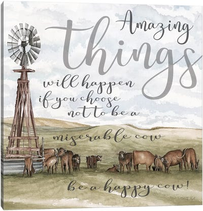 Amazing Things     Canvas Art Print