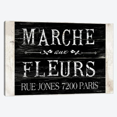 Fleurs Sign II 3-Piece Canvas #CJA222} by Cindy Jacobs Canvas Print