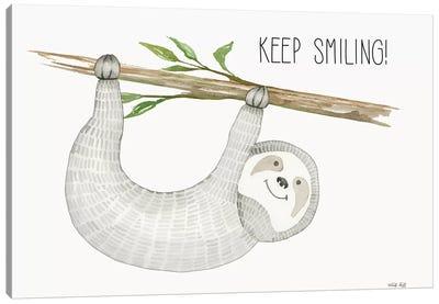Keep Smiling Canvas Art Print
