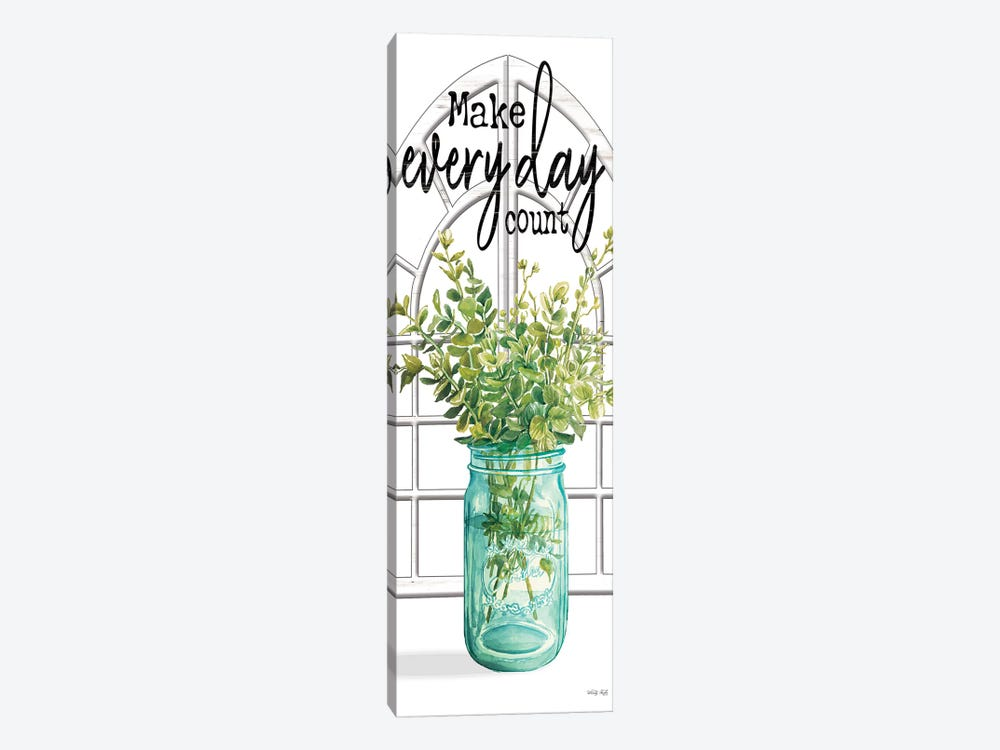 Make Every Day Count by Cindy Jacobs 1-piece Canvas Art Print