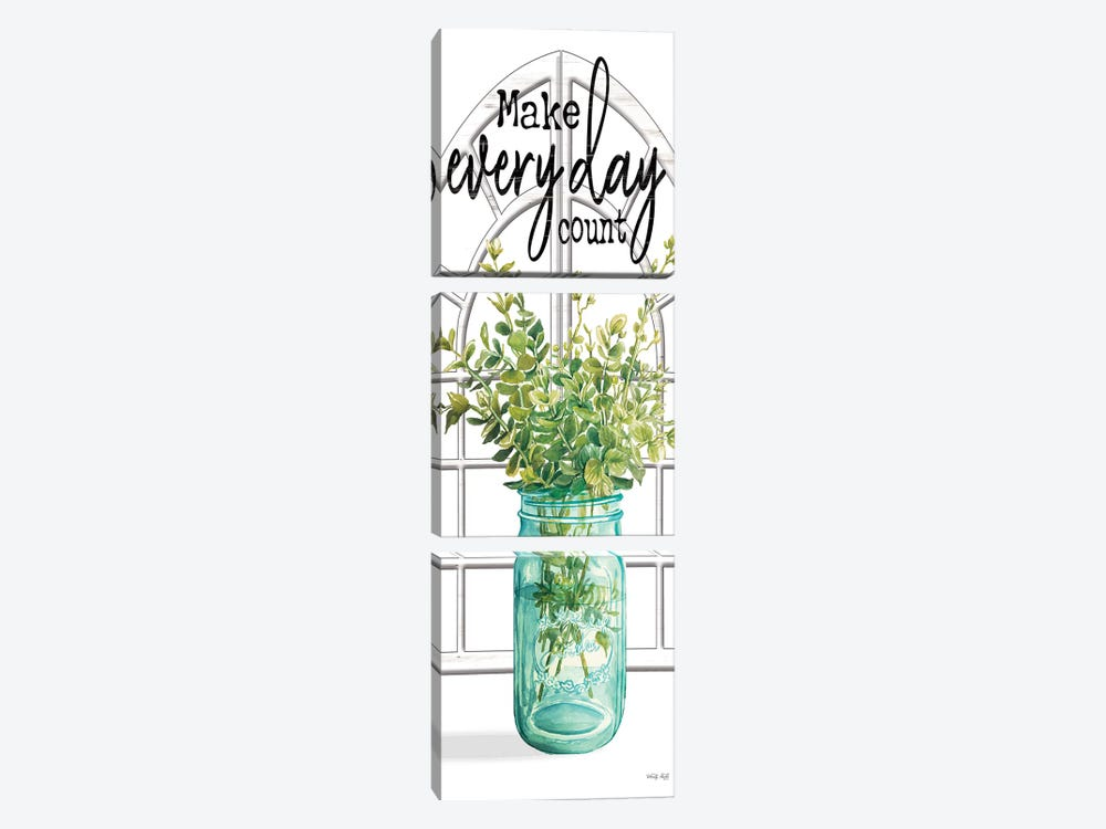 Make Every Day Count by Cindy Jacobs 3-piece Art Print