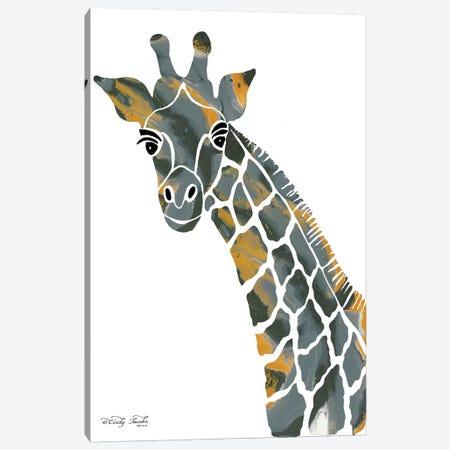 Bright Giraffe II Canvas Print #CJA25} by Cindy Jacobs Canvas Print