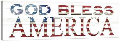 God Bless America    Canvas Art Print