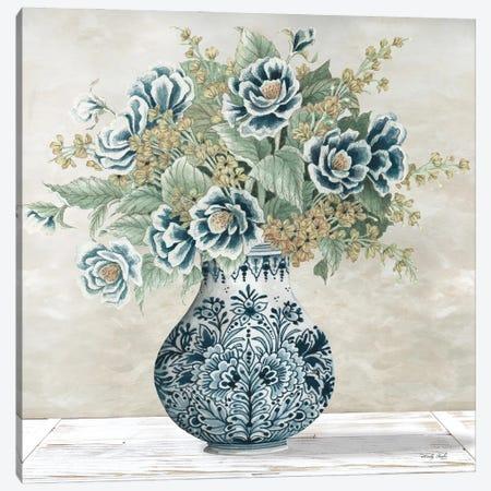 Feeling Blue I Canvas Print #CJA269} by Cindy Jacobs Canvas Art Print