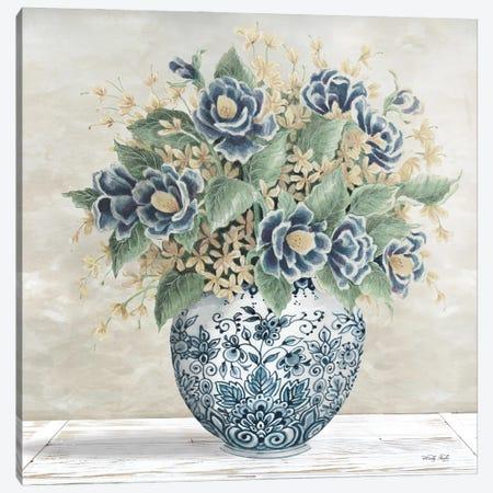 Feeling Blue II Canvas Print #CJA270} by Cindy Jacobs Canvas Art