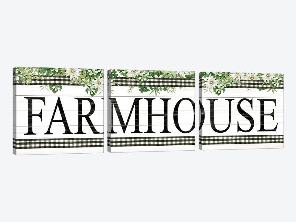 Farmhouse by Cindy Jacobs 3-piece Art Print