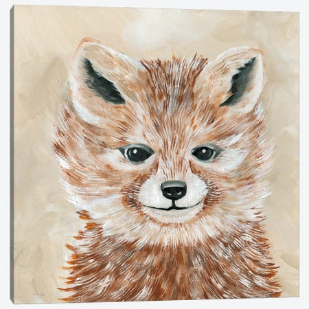 Freckles the Fox Canvas Print #CJA283} by Cindy Jacobs Canvas Print