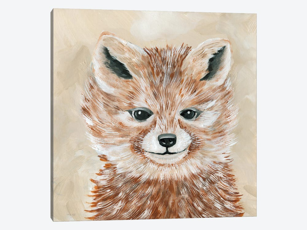 Freckles the Fox by Cindy Jacobs 1-piece Canvas Artwork