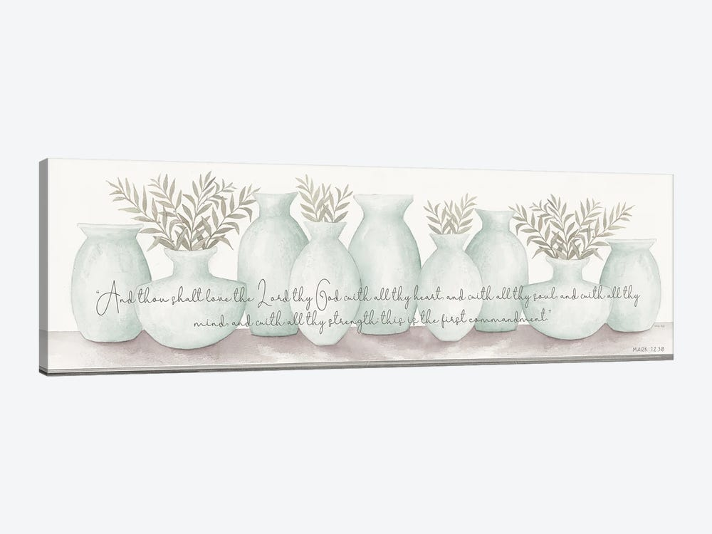 Love the Lord Your God by Cindy Jacobs 1-piece Canvas Art