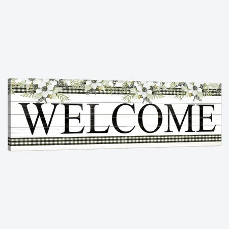 Welcome Canvas Print #CJA303} by Cindy Jacobs Canvas Art