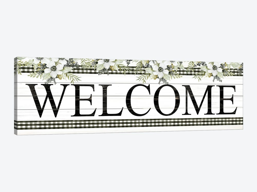 Welcome by Cindy Jacobs 1-piece Canvas Print