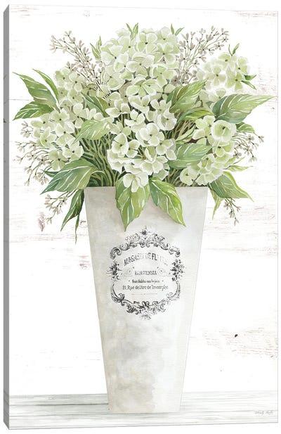 Les Fleurs Hortensia Canvas Art Print