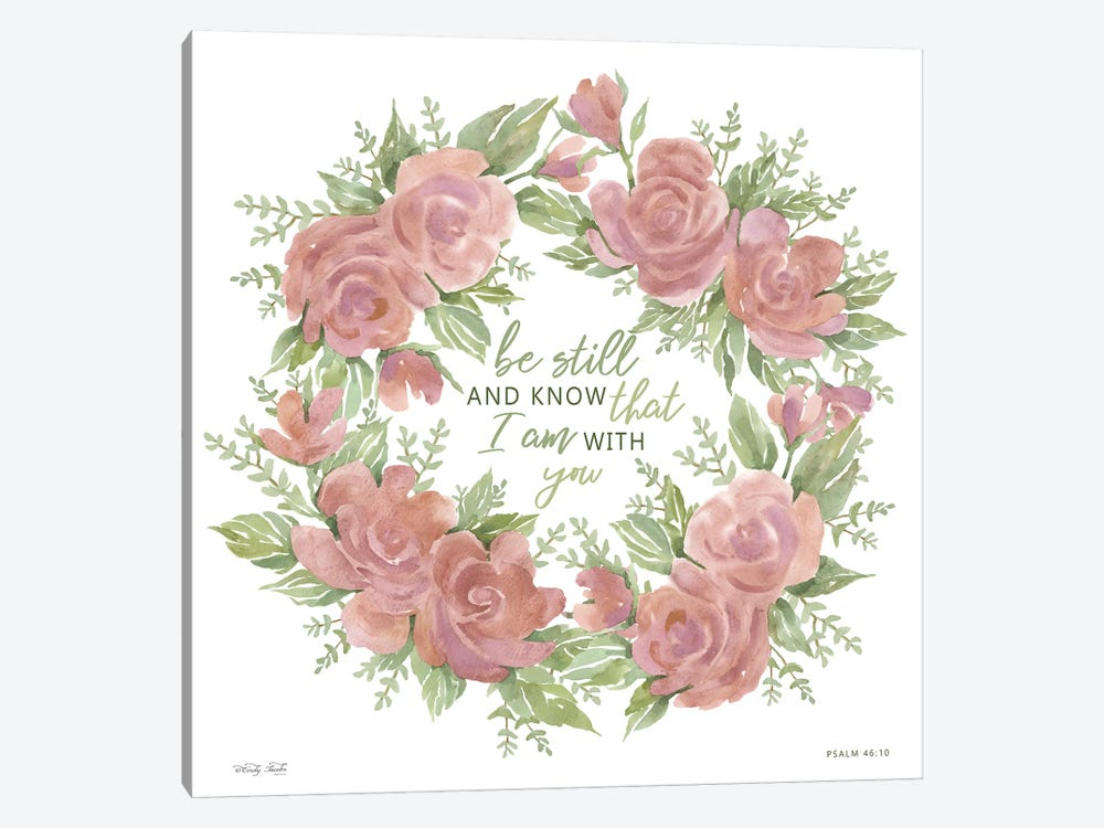 Be Still and Know by Cindy Jacobs 1-piece Art Print